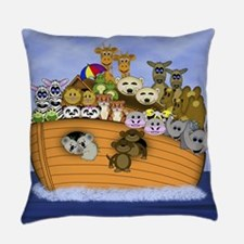Noahs Ark Small Poster.png Everyday Pillow