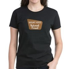 Mount Hood (Sign) National Fo Tee