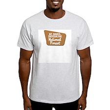 Mt. Baker-Snoqualmie (Sign) N Ash Grey T-Shirt