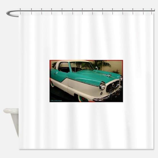 Classic car, photo! Shower Curtain