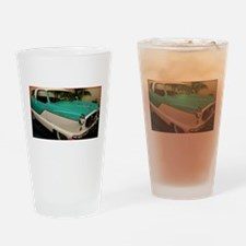 Classic car, photo! Drinking Glass