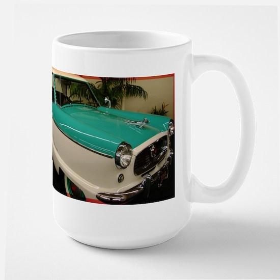 Classic car, photo! Large Mug