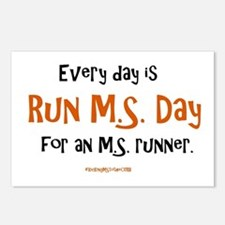 Every Day is Run MS Day f Postcards (Package of 8)