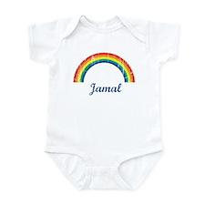 Jamal vintage rainbow Infant Bodysuit