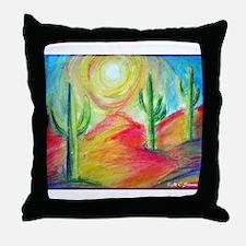 Desert, Southwest art! Throw Pillow