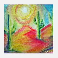 Desert, Southwest art! Tile Coaster