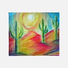 Desert, Southwest art! Throw Blanket