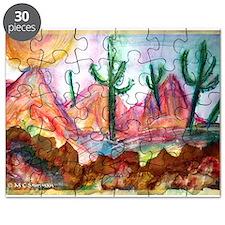 Desert! Southwest art! Puzzle