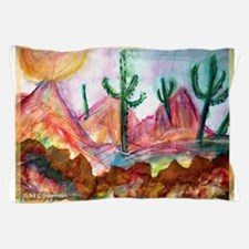Desert! Southwest art! Pillow Case
