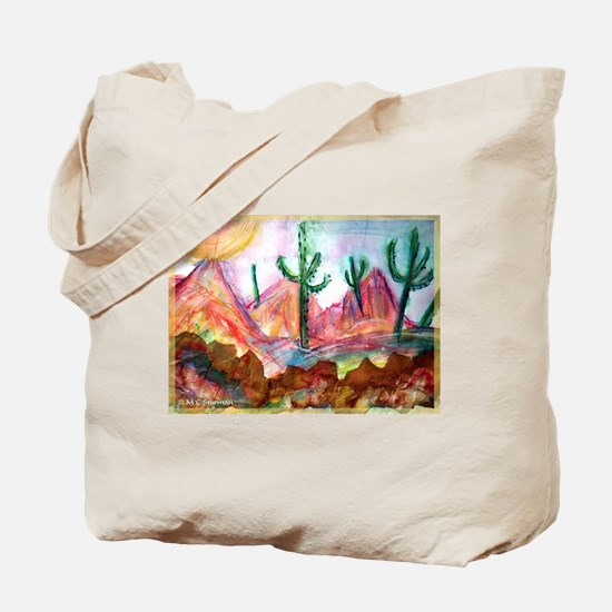 Desert! Southwest art! Tote Bag
