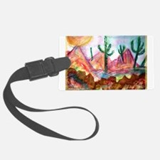 Desert! Southwest art! Luggage Tag