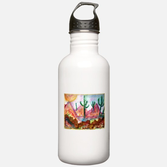 Desert! Southwest art! Water Bottle