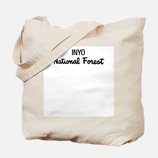 Inyo National Forest Tote Bag