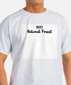 Inyo National Forest Ash Grey T-Shirt