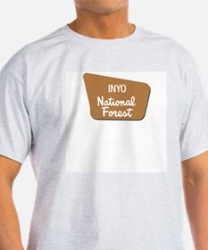 Inyo (Sign) National Forest Ash Grey T-Shirt