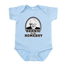 Bernie Sanders is my homeboy Infant Bodysuit