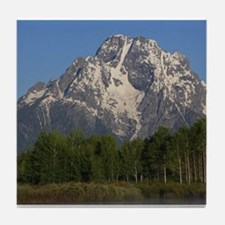 Grand Tetons Naional Park Tile Coaster