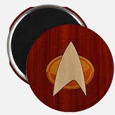 STARTREK TNG WOOD 1 Magnet