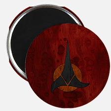 STARTREK KLINGON WOOD 1 Magnet