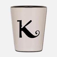K Shot Glass