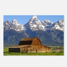 Grand Tetons Naional Park Postcards (Package of 8)