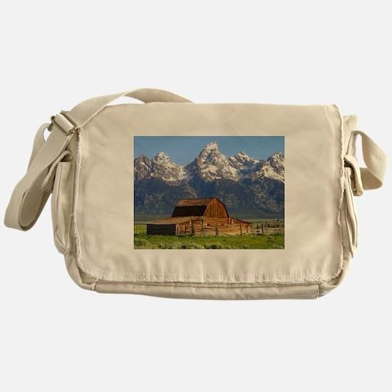Grand Tetons Naional Park Messenger Bag