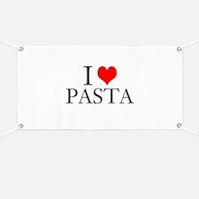 I Heart Pasta Banner
