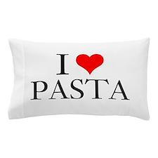 I Heart Pasta Pillow Case