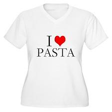 I Heart Pasta Plus Size T-Shirt