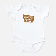 Bridger-Teton National Forest (Sign) Infant Bodysu