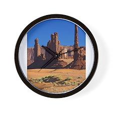 Scenes of Utah Wall Clock