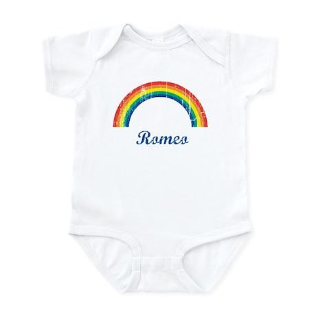 Romeo vintage rainbow Infant Bodysuit