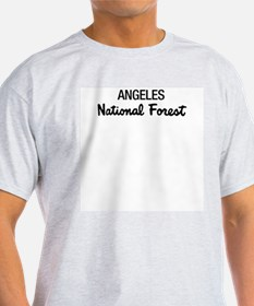 Angeles National Forest Ash Grey T-Shirt