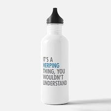 Herping Thing Water Bottle