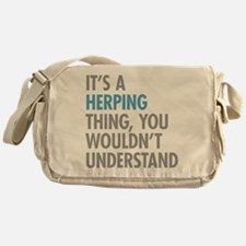 Herping Thing Messenger Bag