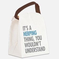 Herping Thing Canvas Lunch Bag