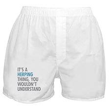 Herping Thing Boxer Shorts