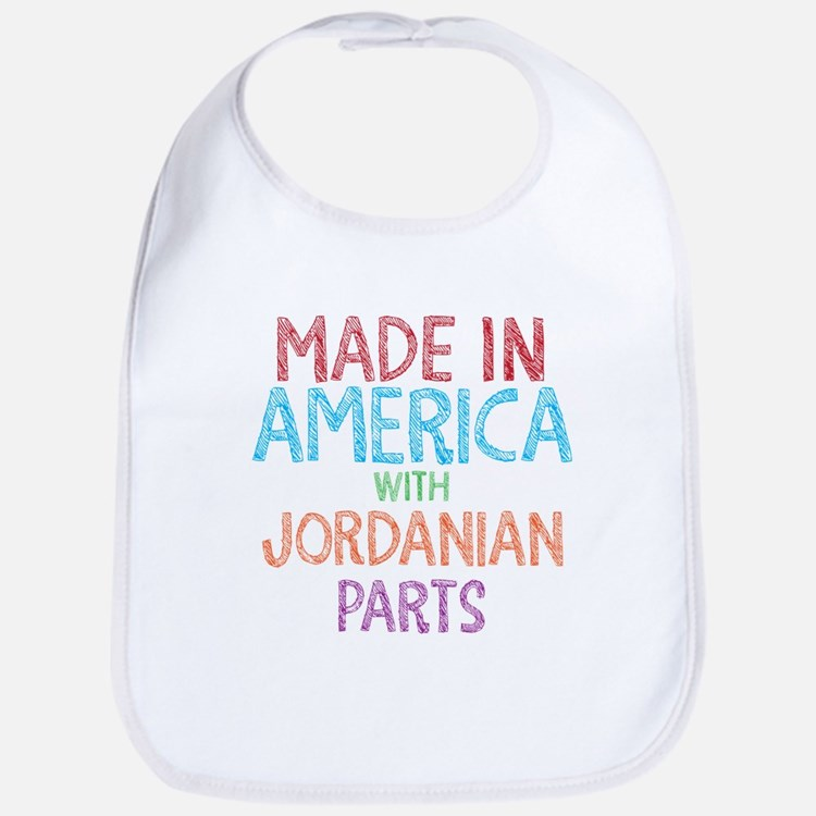Jordanian Parts Bib