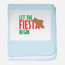 Let the Fiesta Begin baby blanket