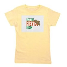 Let the Fiesta Begin Girl's Tee