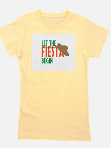 Let the Fiesta Begin Girl's Tee