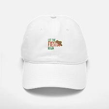 Let the Fiesta Begin Baseball Baseball Cap