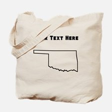 Oklahoma Outline (Custom) Tote Bag