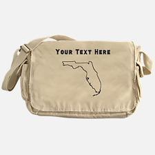 Florida Outline (Custom) Messenger Bag
