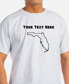 Florida Outline (Custom) T-Shirt