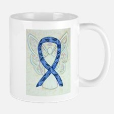 Thyroid Disease Ribbon Mugs