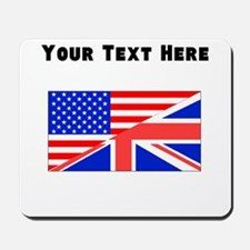 British American Flag Mousepad