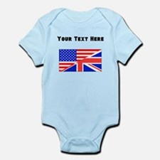 British American Flag Body Suit