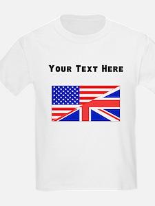 British American Flag T-Shirt