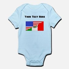 Mexican American Flag Body Suit